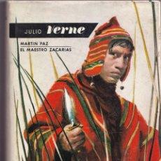 Libros de segunda mano: JULIO VERNE - EL MAESTRO ZACARIAS, MARTI PAZ - MOLINO 1963. Lote 240028295