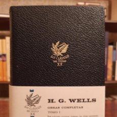 """Libros de segunda mano: H.G WELLS: """"OBRAS COMPLETAS"""". Lote 240089380"""