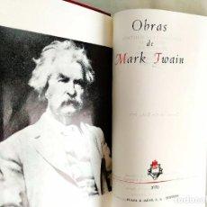 Libros de segunda mano: MARK TWAIN: OBRAS - NUEVO. Lote 240493735