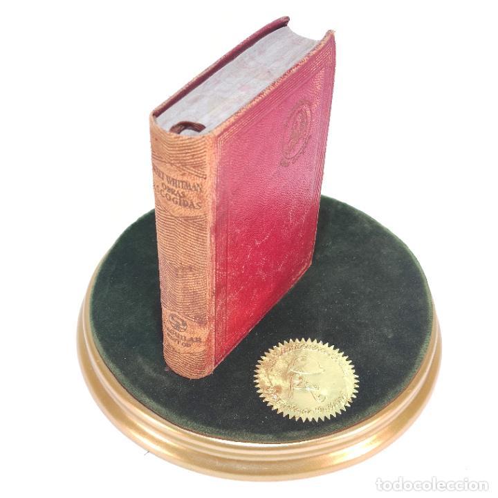 OBRAS ESCOGIDAS. WALT WHITMAN. AGUILAR. 1ª EDICIÓN. 1946. (Libros de Segunda Mano (posteriores a 1936) - Literatura - Narrativa - Clásicos)