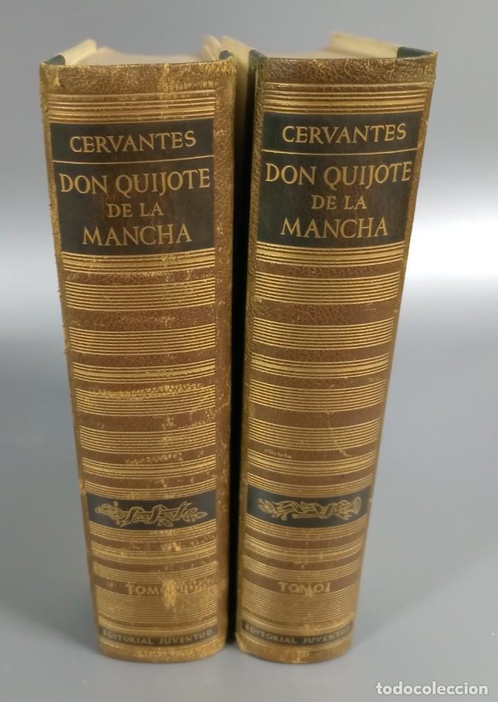 QUIJOTE - CERVANTES - JUVENTUD - 1958 - LITOGRAFIAS DE NARRO - COLECCIONISTAS - MARTIN DE RIQUER (Libros de Segunda Mano (posteriores a 1936) - Literatura - Narrativa - Clásicos)