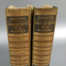 Libros de segunda mano: QUIJOTE - CERVANTES - JUVENTUD - 1958 - LITOGRAFIAS DE NARRO - COLECCIONISTAS - MARTIN DE RIQUER. Lote 240912005