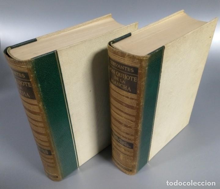 Libros de segunda mano: QUIJOTE - CERVANTES - JUVENTUD - 1958 - LITOGRAFIAS DE NARRO - COLECCIONISTAS - MARTIN DE RIQUER - Foto 4 - 240912005