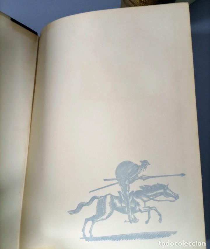 Libros de segunda mano: QUIJOTE - CERVANTES - JUVENTUD - 1958 - LITOGRAFIAS DE NARRO - COLECCIONISTAS - MARTIN DE RIQUER - Foto 5 - 240912005