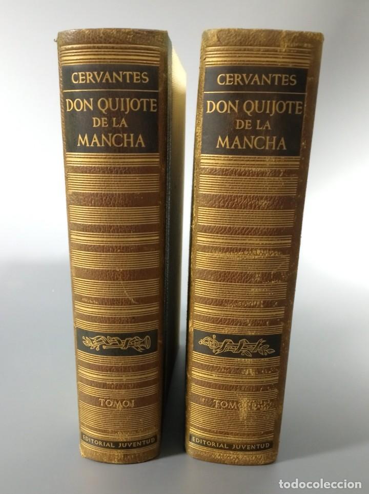 Libros de segunda mano: QUIJOTE - CERVANTES - JUVENTUD - 1958 - LITOGRAFIAS DE NARRO - COLECCIONISTAS - MARTIN DE RIQUER - Foto 11 - 240912005