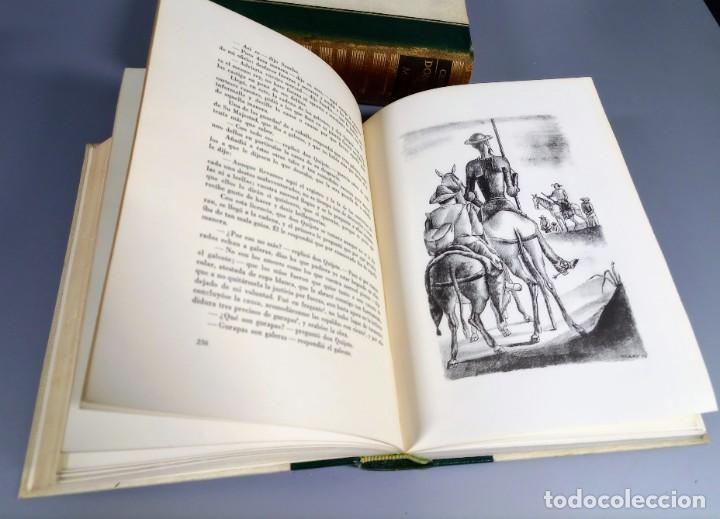 Libros de segunda mano: QUIJOTE - CERVANTES - JUVENTUD - 1958 - LITOGRAFIAS DE NARRO - COLECCIONISTAS - MARTIN DE RIQUER - Foto 12 - 240912005
