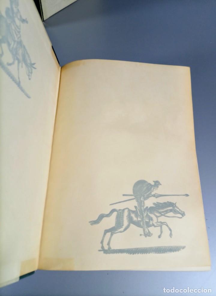 Libros de segunda mano: QUIJOTE - CERVANTES - JUVENTUD - 1958 - LITOGRAFIAS DE NARRO - COLECCIONISTAS - MARTIN DE RIQUER - Foto 14 - 240912005