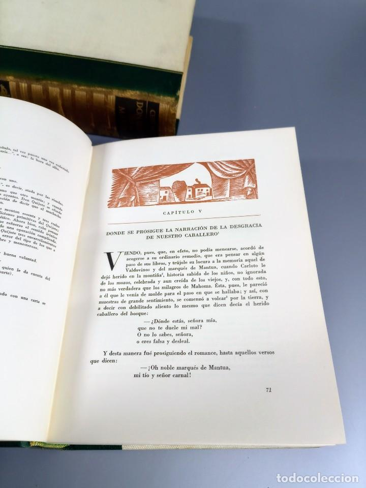 Libros de segunda mano: QUIJOTE - CERVANTES - JUVENTUD - 1958 - LITOGRAFIAS DE NARRO - COLECCIONISTAS - MARTIN DE RIQUER - Foto 17 - 240912005