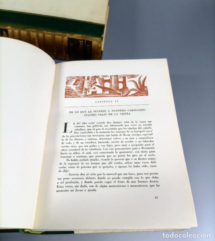 Libros de segunda mano: QUIJOTE - CERVANTES - JUVENTUD - 1958 - LITOGRAFIAS DE NARRO - COLECCIONISTAS - MARTIN DE RIQUER - Foto 18 - 240912005