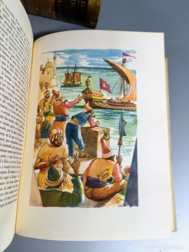 Libros de segunda mano: QUIJOTE - CERVANTES - JUVENTUD - 1958 - LITOGRAFIAS DE NARRO - COLECCIONISTAS - MARTIN DE RIQUER - Foto 20 - 240912005