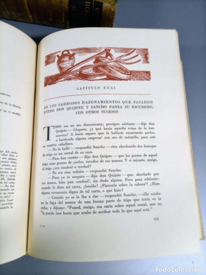 Libros de segunda mano: QUIJOTE - CERVANTES - JUVENTUD - 1958 - LITOGRAFIAS DE NARRO - COLECCIONISTAS - MARTIN DE RIQUER - Foto 21 - 240912005