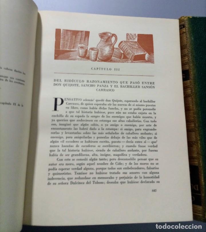 Libros de segunda mano: QUIJOTE - CERVANTES - JUVENTUD - 1958 - LITOGRAFIAS DE NARRO - COLECCIONISTAS - MARTIN DE RIQUER - Foto 23 - 240912005
