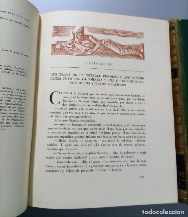 Libros de segunda mano: QUIJOTE - CERVANTES - JUVENTUD - 1958 - LITOGRAFIAS DE NARRO - COLECCIONISTAS - MARTIN DE RIQUER - Foto 24 - 240912005