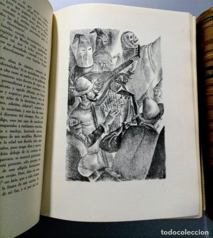 Libros de segunda mano: QUIJOTE - CERVANTES - JUVENTUD - 1958 - LITOGRAFIAS DE NARRO - COLECCIONISTAS - MARTIN DE RIQUER - Foto 25 - 240912005