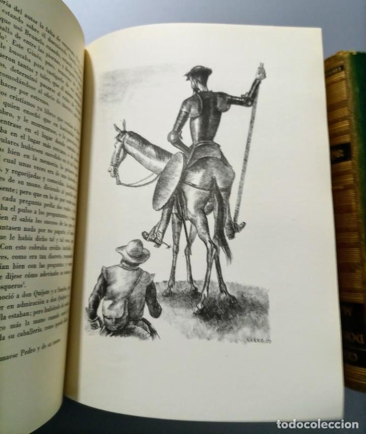 Libros de segunda mano: QUIJOTE - CERVANTES - JUVENTUD - 1958 - LITOGRAFIAS DE NARRO - COLECCIONISTAS - MARTIN DE RIQUER - Foto 26 - 240912005