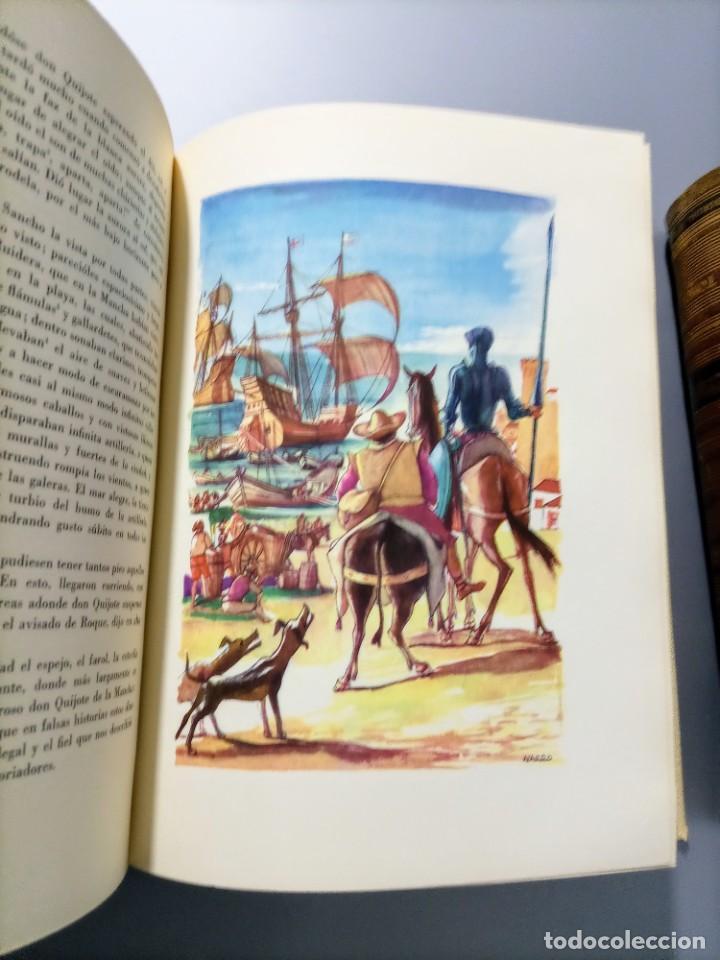 Libros de segunda mano: QUIJOTE - CERVANTES - JUVENTUD - 1958 - LITOGRAFIAS DE NARRO - COLECCIONISTAS - MARTIN DE RIQUER - Foto 28 - 240912005