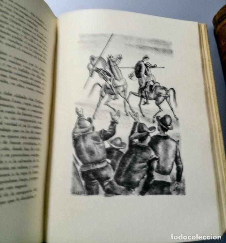 Libros de segunda mano: QUIJOTE - CERVANTES - JUVENTUD - 1958 - LITOGRAFIAS DE NARRO - COLECCIONISTAS - MARTIN DE RIQUER - Foto 29 - 240912005