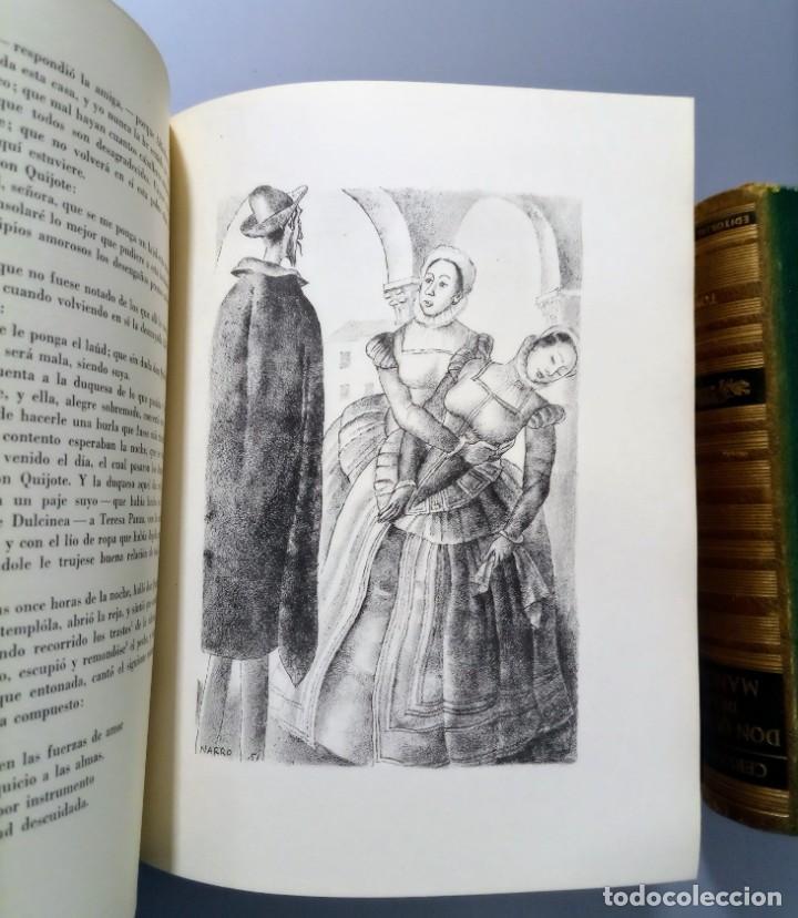 Libros de segunda mano: QUIJOTE - CERVANTES - JUVENTUD - 1958 - LITOGRAFIAS DE NARRO - COLECCIONISTAS - MARTIN DE RIQUER - Foto 30 - 240912005