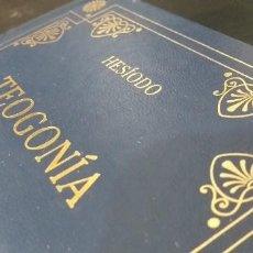 Libros de segunda mano: TEOGONÍA DE HESÍODO - LIBRO .. Lote 241454095