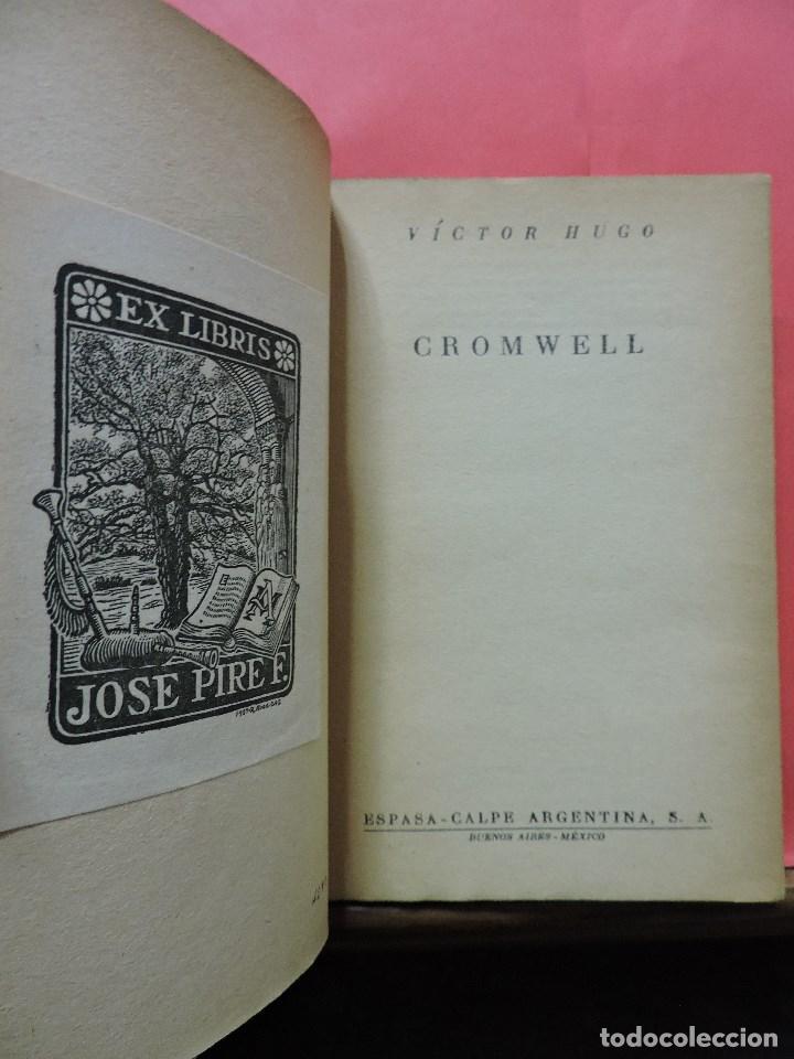 Libros de segunda mano: Cromwell. HUGO, Victor. 1ª Ed Espasa Calpe Colección Austral 1947 - Foto 2 - 241851530
