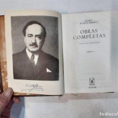 Libros de segunda mano: VICENTE BLASCO IBÁÑEZ - OBRAS COMPLETAS TOMO I 1 - 8ª EDICIÓN - AGUILAR -(L). Lote 241887470