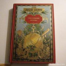 Libros de segunda mano: CINCO SEMANAS EN GLOBO-JULIO VERNE-COLECCIÓN HETZEL-ED.RBA-1ª EDICIÓN-AÑO 2008.TAPA DURA.. Lote 241988680