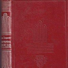 Libros de segunda mano: AGUILAR CRISOL Nº 358 - TURGUENIEV : UN REY LEAR, EN LA ESTEPA, EN VISPERAS (1952). Lote 242094420