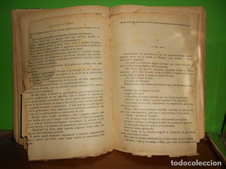 Libros de segunda mano: EL CAPITAN SIN MIEDO - 20 HISTORIAS - EN CUADERNO - ILUSTRADO EN NEGRO - TENGO + LIBROS - Foto 2 - 242109895