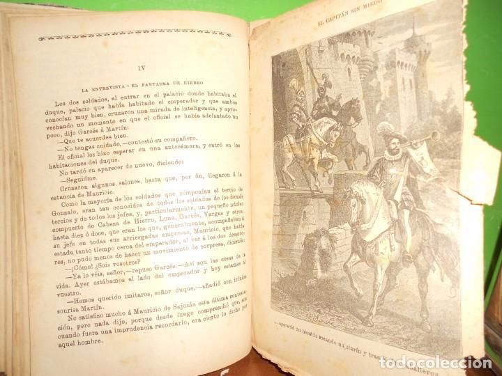 Libros de segunda mano: EL CAPITAN SIN MIEDO - 20 HISTORIAS - EN CUADERNO - ILUSTRADO EN NEGRO - TENGO + LIBROS - Foto 3 - 242109895