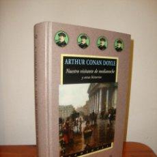 Libros de segunda mano: NUESTRO VISITANTE DE MEDIANOCHE Y OTRAS HISTORIAS - ARTHUR CONAN DOYLE - VALDEMAR AVATARES. Lote 242223855