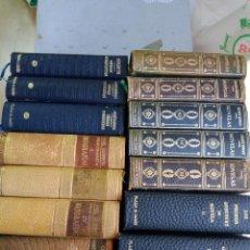 Libros de segunda mano: 16 LIBROS DE OBRAS COMPLETAS Y NOVELAS DE DIFERENTES AUTORES Y VARIAS EDITORIALES. Lote 242855040
