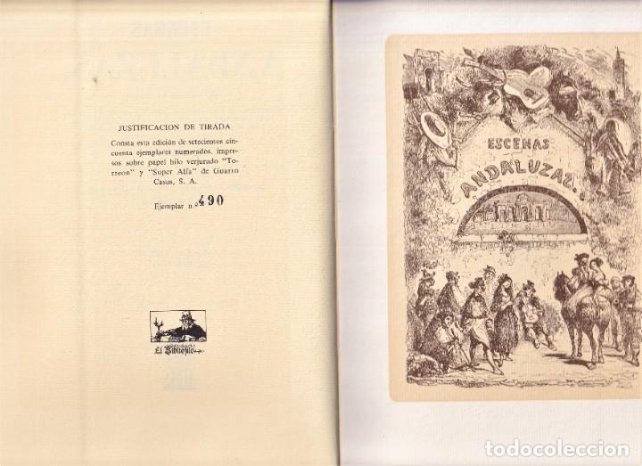 Libros de segunda mano: FACSIMIL - ESCENAS ANDALUZAS DE ESTEBANEZ CALDERÓN 1847 - EDICIÓN DE LUJO - Foto 2 - 242861265