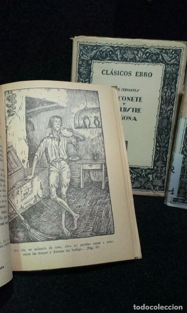 Libros de segunda mano: LOTE DE 3 LIBROS CLASICOS EBRO - Foto 4 - 243018185