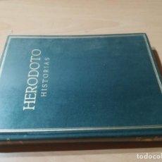 Libros de segunda mano: HISTORIAS / HERODOTO / CONSEJO SUPERIOR INVESTIGACIONES CIENTIFICAS / ES158. Lote 243637360