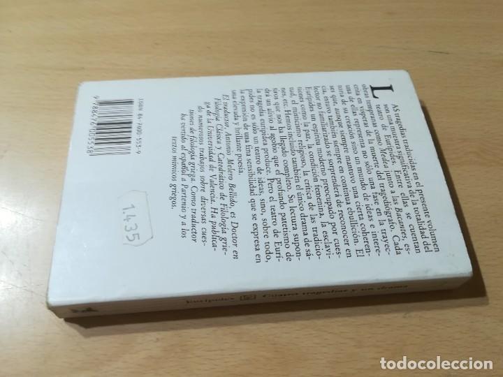 Libros de segunda mano: CUATRO TRAGEDIAS Y UN DRAMA SATIRICO / EURIPIDES / AKAL CLASICA / ES158 - Foto 2 - 243643505