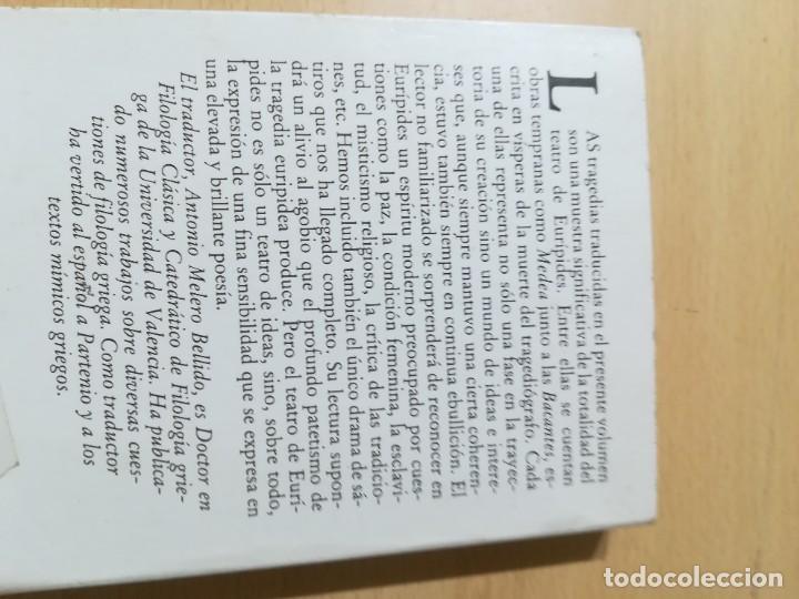 Libros de segunda mano: CUATRO TRAGEDIAS Y UN DRAMA SATIRICO / EURIPIDES / AKAL CLASICA / ES158 - Foto 3 - 243643505