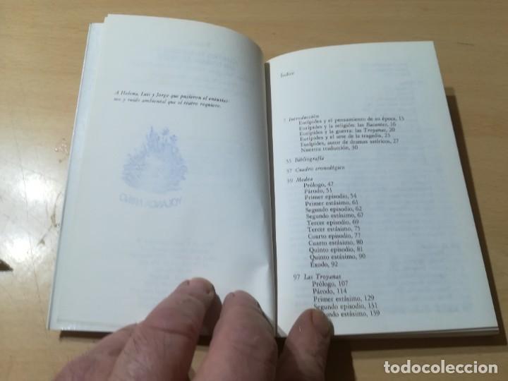 Libros de segunda mano: CUATRO TRAGEDIAS Y UN DRAMA SATIRICO / EURIPIDES / AKAL CLASICA / ES158 - Foto 7 - 243643505
