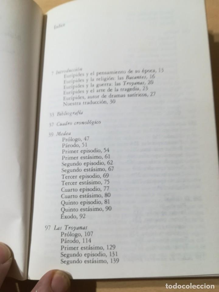Libros de segunda mano: CUATRO TRAGEDIAS Y UN DRAMA SATIRICO / EURIPIDES / AKAL CLASICA / ES158 - Foto 8 - 243643505