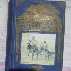 Libros de segunda mano: EL INGENIOSO HIDALGO DON QUIJOTE DE LA MANCHA, RAMÓN SOPENA 1940. Lote 243791895