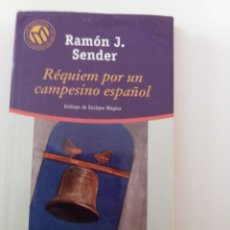 Libros de segunda mano: RÉQUIEM POR UN CAMPESINO ESPAÑOL, DE RAMÓN J. SÉNDER. Lote 243905100
