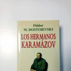 Libros de segunda mano: LOS HERMANOS KARAMAZOV. FIODOR DOSTOIEVSKI. DEBATE.. Lote 243910535