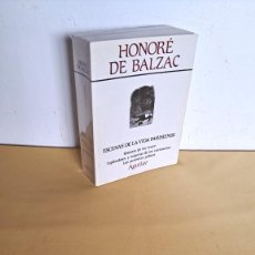 Libros de segunda mano: HONORE DE BALZAC - OBRAS COMPLETAS, TOMO III - AGUILAR 1972. Lote 244016580