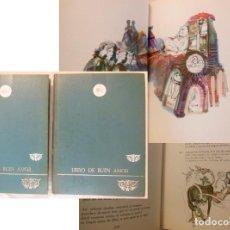 Libros de segunda mano: LIBRO DEL BUEN AMOR 2 VOLUMENES. 1968 JUAN RUIZ ARCIPRESTE DE HITA. Lote 244190795
