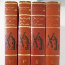 Libros de segunda mano: DON QUIJOTE DE LA MANCHA. MIGUEL DE CERVANTES SAAVEDRA. EDICIONES GINER. EDICION Y NOTAS DE VICENTE. Lote 244400615