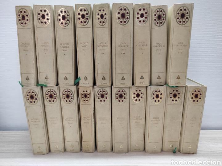 LOTE 19 LIBROS COLECCIÓN EDITORIAL MARÍN AÑOS 60/61 (Libros de Segunda Mano (posteriores a 1936) - Literatura - Narrativa - Clásicos)
