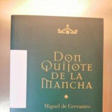 Libros de segunda mano: LLIBRO DON QUIJOTE DE LA MANCHA - M. CERVANTES - ANDRÉS AMOROS - ED. PARADORES AÑO 2002. Lote 244527555