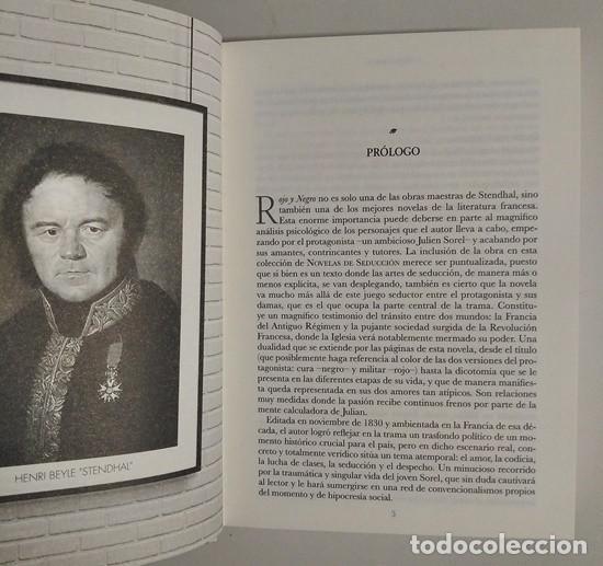 Libros de segunda mano: Rojo y negro (Stendhal) / Historias de Seducción – Club Internacional del Libro, 2020 - Foto 4 - 244781990