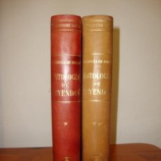 Libros de segunda mano: ANTOLOGÍA DE LEYENDAS - V. GARCÍA DE DIEGO - LABOR, PLENA PIEL, 1958. Lote 244946840