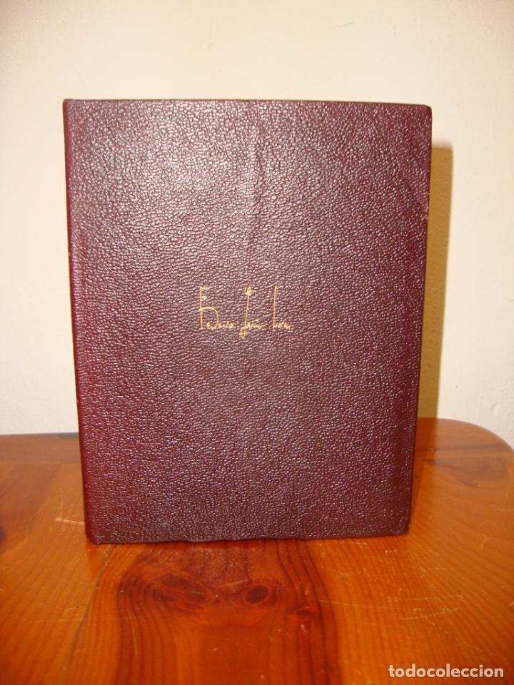 Libros de segunda mano: OBRAS COMPLETAS - FEDERICO GARCÍA LORCA - AGUILAR, 1968, MUY BUEN ESTADO - Foto 2 - 244948305