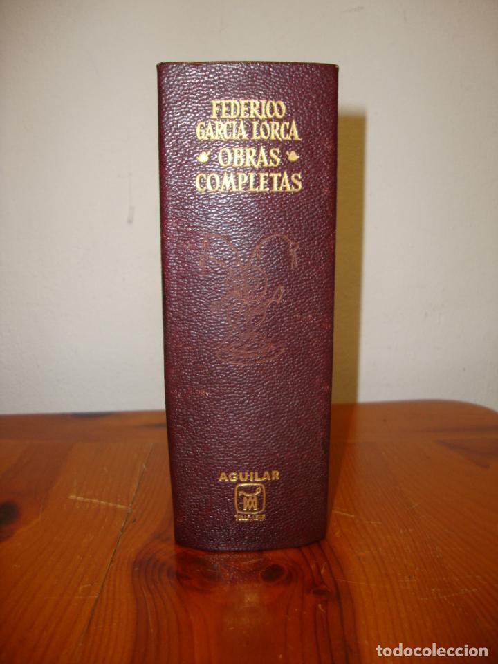OBRAS COMPLETAS - FEDERICO GARCÍA LORCA - AGUILAR, 1968, MUY BUEN ESTADO (Libros de Segunda Mano (posteriores a 1936) - Literatura - Narrativa - Clásicos)